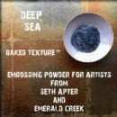 Seth Apter, Emerald Creek Baked Texture 17g Embossing Powder - Deep Sea